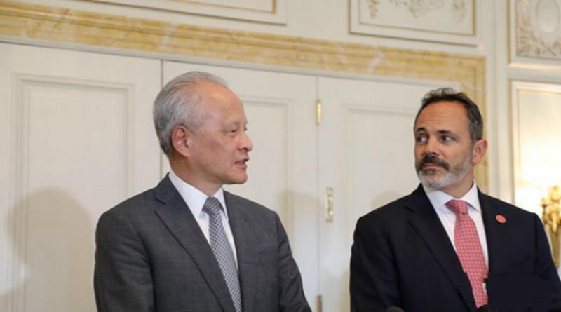 """中国驻美大使:中国不寻求""""一枝独秀""""的发展"""
