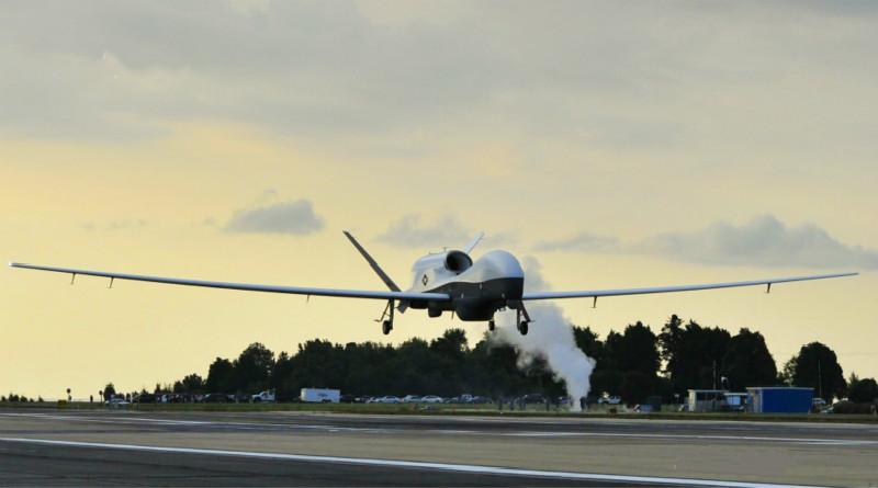 美最先进长航时无人机坠毁 体型超波音737客机