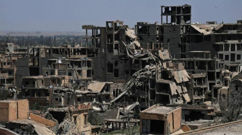 叙媒说美国主导的国际联盟空袭叙东部致62名平民死亡