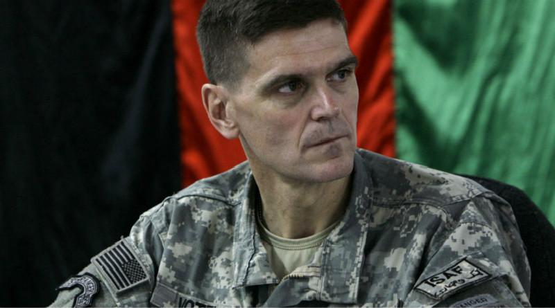 """美军官会见""""叙利亚民主军""""领导人"""