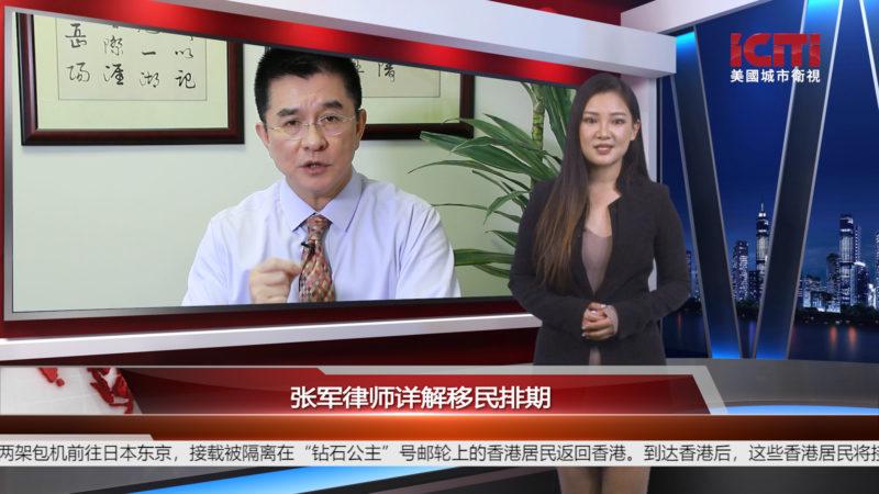 张军律师详解移民排期