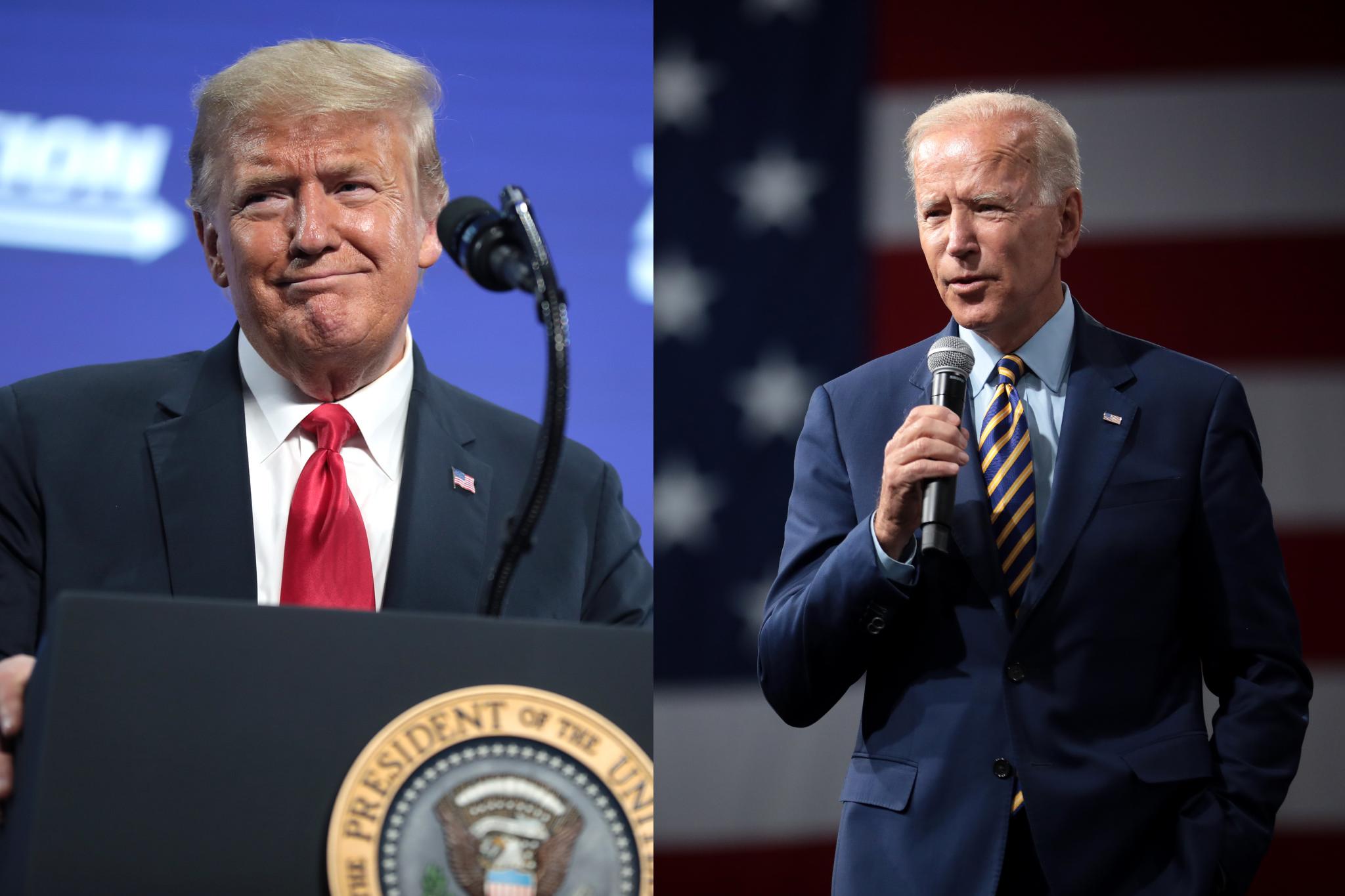 退不退出世卫特朗普与拜登各持己见 两位候选人政见大比拼