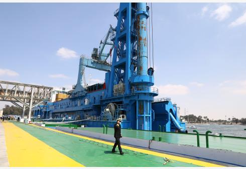 埃及采购大型挖泥船