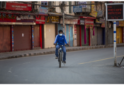 尼泊尔首都防疫限制措施再延长